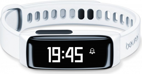 Bratara monitorizare activitate fizica pentru femei Beurer AS81 Bluetooth Alb