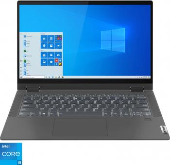 Ultrabook 2in1 Lenovo IdeaPad Flex 5 14ITL05 Intel Core (11th Gen) i5-1135G7 256GB SSD 8GB Intel Iris Xe FullHD Touch Win10 T. ilum FPR Grap