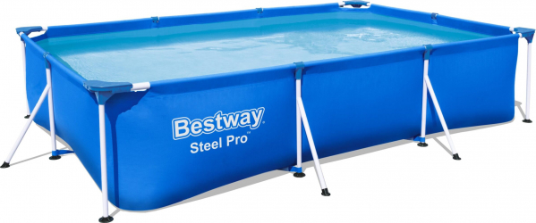 Piscina supraterana Bestway Steel PRO 3.00m x 2.01m x 66cm cod 56411 Piscine