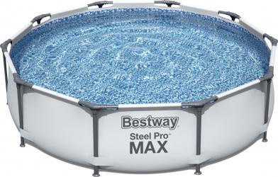 Piscina supraterana Bestway Steel Pro MAX and trade 3.05m x 76cm cod 56408