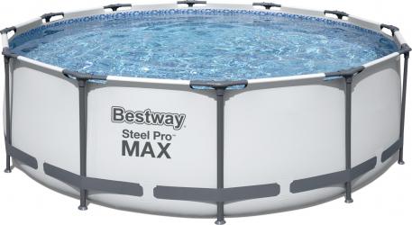 Piscina supraterana Bestway Steel Pro MAX and trade 3.66m x 1.00m cod 56418
