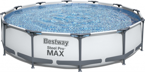 Piscina supraterana Bestway Steel Pro MAX and trade 3.66m x 76cm cod 56416