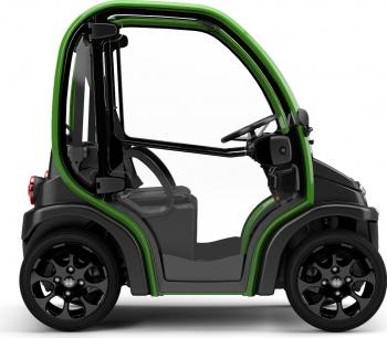 Masina electrica Estrima Biro Winter 44 km/h Produs in Italia Verde