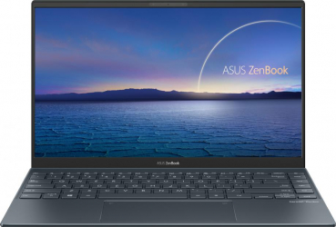 UltraBook ASUS ZenBook 14 UX425EA Intel Core (11th Gen) i7-1165G7 1TB SSD 16GB Iris Xe FullHD Tas. ilum. Pine Grey