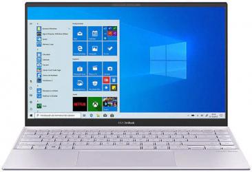 Ultrabook ASUS ZenBook 14 UX425EA Intel Core (11th Gen) i7-1165G7 1TB SSD 16GB Intel Iris Xe FullHD Win10 Tast. ilum. Lilac Mist