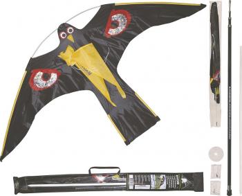 Zmeu Soim cu Dispozitiv Telescopic 4 M - Hawk Kite Birdscarer Votton 1 40 M Impotriva Pasarilor