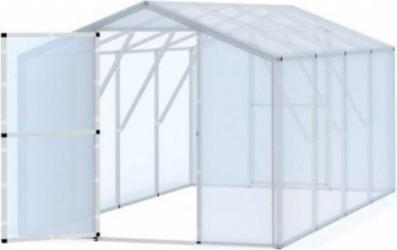 Sera tunel solar pentru gradina cu folie transparenta structura solida 2x4m Sere si Solarii