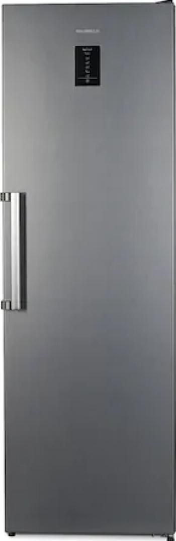 Congelator Heinner HFF-V280NFXF+ No Frost Control electronic 7 sertare Clasa A+ Argintiu Lazi si congelatoare