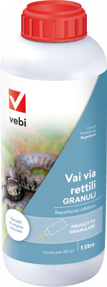 Repelent granule Vebi pentru reptile serpi si soparle 1 l Articole antidaunatori gradina