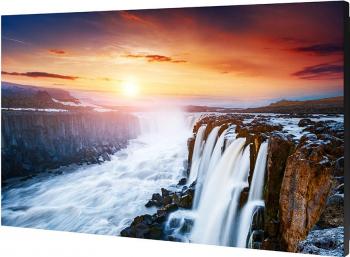 Ecran Videowall LED 140cm Samsung VH55R Full HD DVI Display Port HDMI HDCP USB Negru