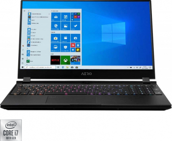 Laptop Gaming Gigabyte Aero 17 XC Intel Core (10th Gen) i7-10870H 1TB SSD 16GB NVIDIA Geforce RTX 3060 6GB FullHD 300Hz Win10 T.Ilum. RGB