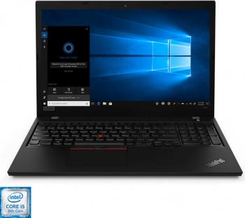 Laptop Lenovo ThinkPad L590 Intel Core (8th Gen) i5-8265U 512GB SSD 8GB FullHD Win10 Pro Tast. ilum. FPR Black