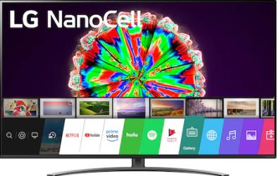 Televizor LED 164 cm LG 65NANO813NA 4K UltraHD Smart TV Televizoare