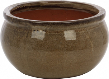 Ghiveci ceramic rotund 33 x 18 cm
