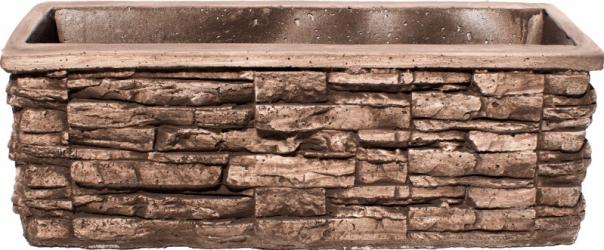 Jardiniera beton exterior 103 x 40 x 35 cm Ghivece si suporturi