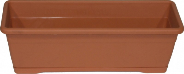 Jardiniera plastic interior/exterior 50 x 18 cm