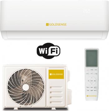 Aparat de aer conditionat Goldsense GLSA12T 12.000 BTU Racire Clasa A++ Incalzire A+ 6 viteze Wifi Ready R32 Inverter