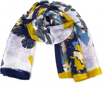 Esarfa dama Pami Silk Touch 90 x 180 cm Multicolor