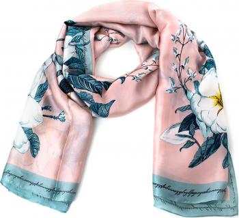 Esarfa dama Pami Silk Touch 90 x 180 cm Roz
