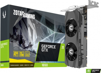 Placa video ZOTAC GeForce GTX 1650 4GB GDDR6 128bit