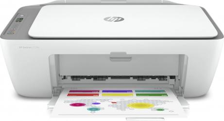 Multifunctionala Inkjet Color HP Deskjet 2720E All in One WiFi A4 Alb