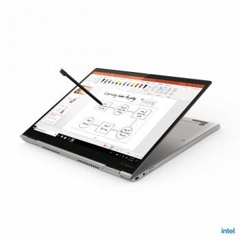 Ultrabook 2in1 Lenovo ThinkPad X1 Titanium Yoga Intel Core (11th Gen) i7-1160G7 512GB SSD 16GB Iris Xe QHD Touch Win10 Pro Tast. ilum. FPR
