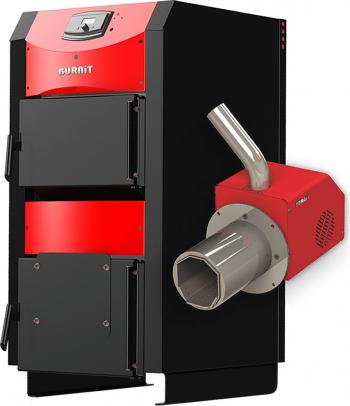 Centrala mixta lemn si peleti Burnit WBS AC 40 kW si Arzator pe peleti Pell Eco 35 kW Centrale pe lemne