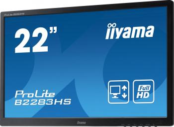 Monitor Refurbished Iiyama B2283HS 22 Inch Full HD LED VGA HDMI Display Port Fara picior