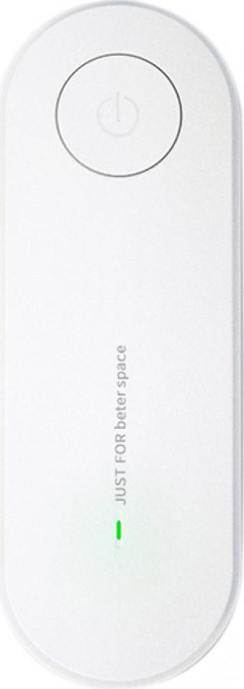 Purificator/Ionizator de aer pentru priza 11.3 x 4 cm alb Aparate filtrare aer