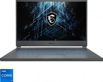 Laptop Gaming MSI Stealth 15M A11 Intel Core (11th Gen) i7-1185G7 1TB SSD 16GB GTX 1660Ti 6GB FullHD 144Hz Carbon Gray
