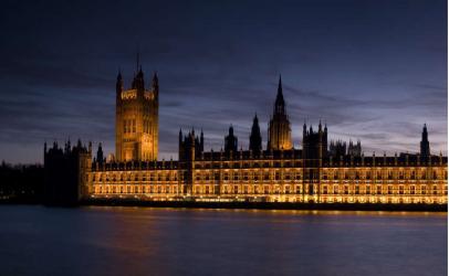 Panou bucatarie protectie plita aragaz antistropire print UV model Casa Parlamentului 600x500 mm Placi decorative