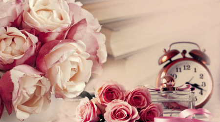 Panou bucatarie protectie plita aragaz antistropire print UV model Trandafiri Roz si Violet 600x600 mm Placi decorative