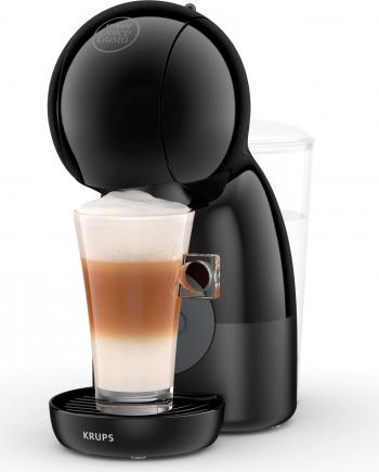 Espressor cu capsule Krups NESCAFE Dolce Gusto Piccolo XS KP1A3B31 1600W 15 Bari Functie Eco Capacitate rezervor 0.8L Negru-Gri Expresoare espressoare cafea