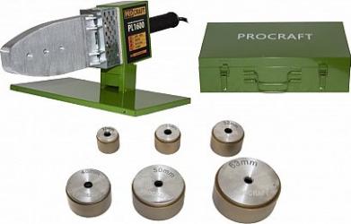 Aparat lipit tevi PPR PPC Procraft PL1600 1600 W 300 grade C trusa cu 6 bac-uri