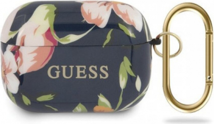 Husa Airpods Pro Guess Silicone Floral N.3 Multicolor