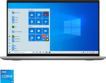 Laptop 2in1 Dell Inspiron 7306 Intel Core (11th Gen) i5-1135G7 512GB+32GB SSD 8GB Iris XE FullHD Touch Win10 Tast. il. FPR Platinum Silver
