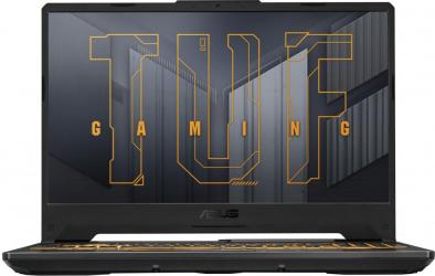 Laptop Gaming ASUS TUF F15 FX506HE Intel Core (11th Gen) i7-11800H 512GB SSD 8GB Geforce RTX 3050Ti 4GB FullHD Endless RGB Eclipse Gray