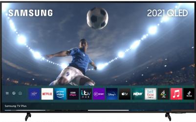 Televizor QLED 127 cm Samsung QE50Q60AA Ultra HD 4K Quantum HDR Smart TV Black