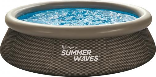 Piscina gonflabila Summer Waves 305x76 cm 4.000 litri cu pompa de filtrare