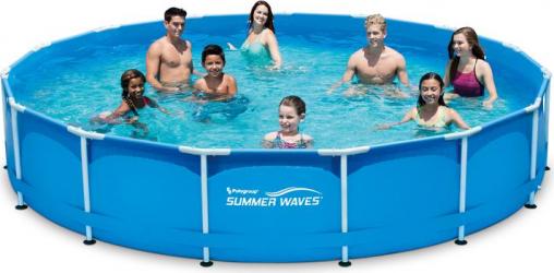 Piscina Summer Waves cadru metalic 457 x 84 cm 12.000 litri Pompa filtrare inclusa