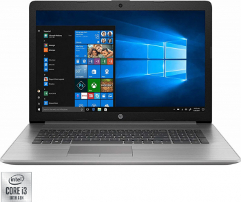 Laptop HP Probook 470 G7 Intel Core (10th Gen) i3-10110U 256GB SSD 8GB AMD Radeon 530 Graphics FullHD Win10 T.Ilum. Silver