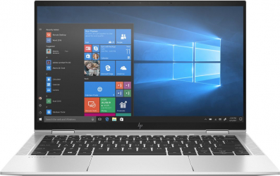 Laptop 2in1 HP EliteBook x360 1030 G7 Intel Core (10th Gen) i7-10710U 256GB SSD 8GB FullHD Touch Win10 Pro FPR T.Ilum. Silver