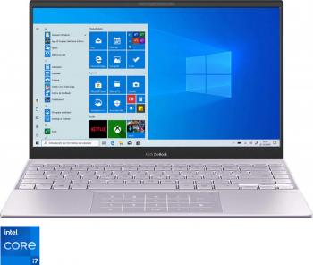 Ultrabook ASUS Zenbook 13 OLED UX325EA Intel Core (11th Gen) i7-1165G7 1TB SSD 32GB Iris XE FullHD Win10 T.Ilum. Lilac Mist
