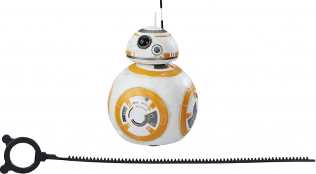 Figurina interactiva cu sunete Star Wars Ultimul Jedi Rip N Go BB-8 Disney 20 cm Multicolor