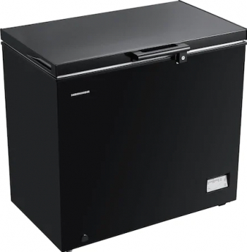 Lada frigorifica Heinner HCF-205NHBKF+ 200 l Clasa F Control elecronic Iluminare LED Waterproof Display Negru Lazi si congelatoare