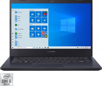 Laptop ASUS Expertbook P2 P2451FA Intel Core (10th Gen) i5-10210U 1TB SSD 16GB FullHD Win10 Pro FPR T.Ilum. Star Black
