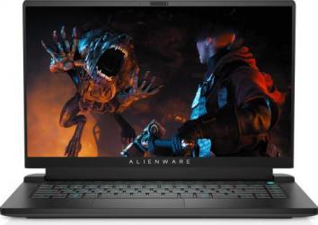 Laptop Gaming Alienware M15 R5 AMD Ryzen 7 5800H 512GB SSD 16GB RTX 3060 6GB FullHD 165Hz Win10 Pro RGB Dark Side Of The Moon