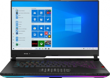Laptop Gaming ASUS ROG Strix SCAR 15 G533QS AMD Ryzen 7 5800H 1TB SSD 16GB RTX 3080 16GB FullHD 300Hz Win10 RGB Black