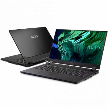 Laptop Gaming Gigabyte Aero 17 HDR XD Intel Core (11th Gen) i7-11800H 1TB SSD 32GB RTX 3070 8GB 4K Win10 Pro Tast. ilum.