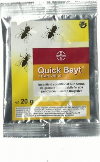 Insecticid Quick Bayt 2 Extra WG 10 25 gr
